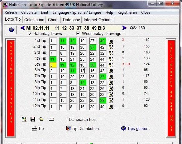 Hoffmann's Lotto-Experte 6 aus 49