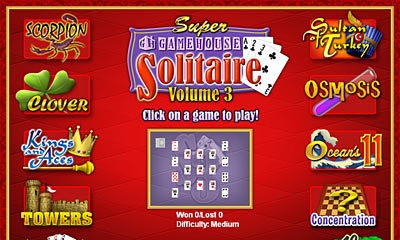 Super GameHouse Solitaire Vol.3