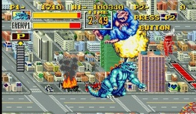 King of the Monsters for Neo Geo wipe out monsters
