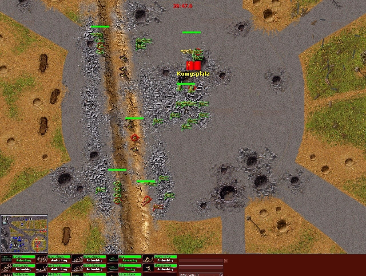 Close Combat 3: The Russian Front russian cp sites