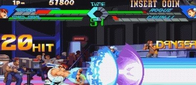 X-Men Vs. Street Fighter for CPS2