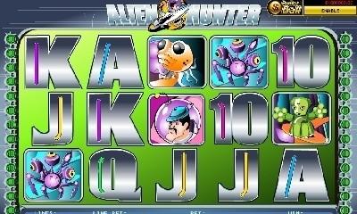 Titan Alien Hunter Online Slots