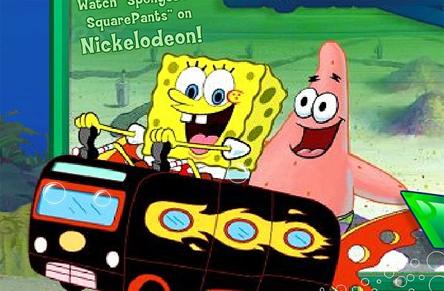 Games Spongebob Squarepants Atlantic Bus Rush