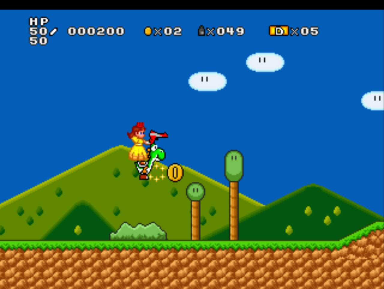 Screenshots for mario game daisy redneck cowgirl