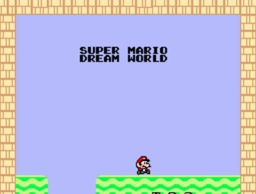 Super Mario Dream World for SNES