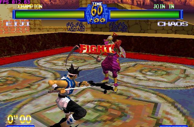 Battle Arena Toshinden 2 for Zinc