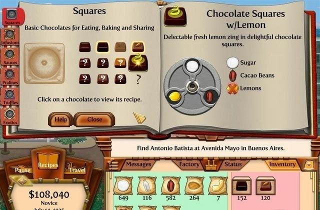 Chocolatier 2-Secret Ingredients