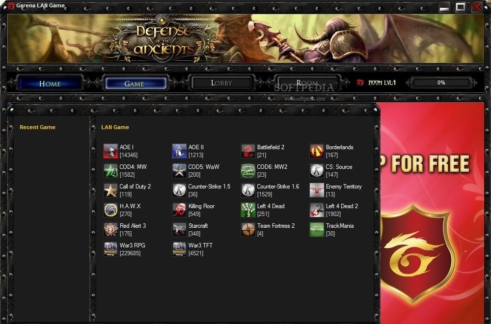 Garena Plus LAN Game Client Patch