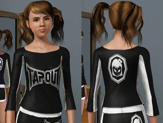 Sims3 - Tapout Fightergirls shorts