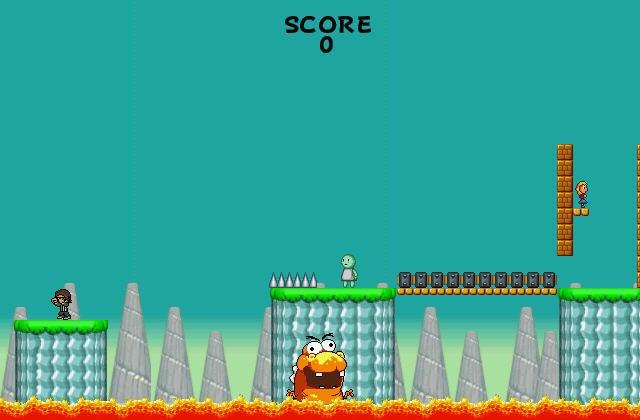 Mario Game: Blargg's Bubble Bonanza