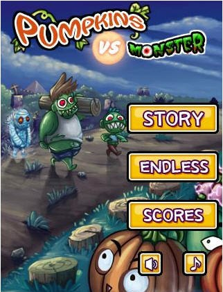 Pumpkins vs. Monsters for Android