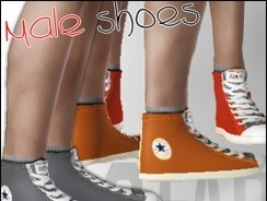 Sims3 - All-star converse shoes : MALE