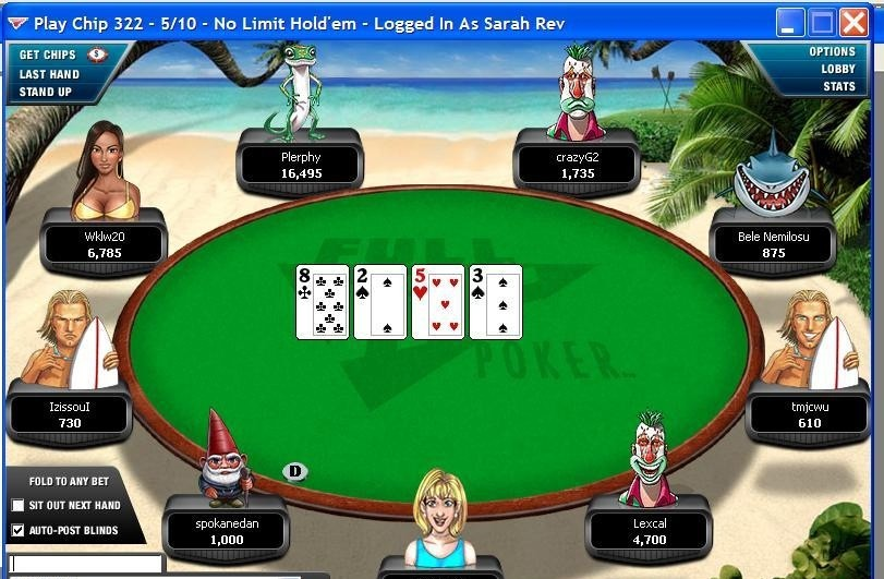 Poker blinds online