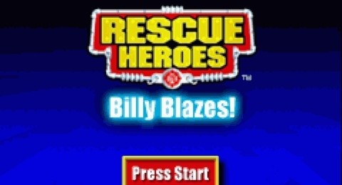 Rescue Heroes - Billy Blazes! for GBA