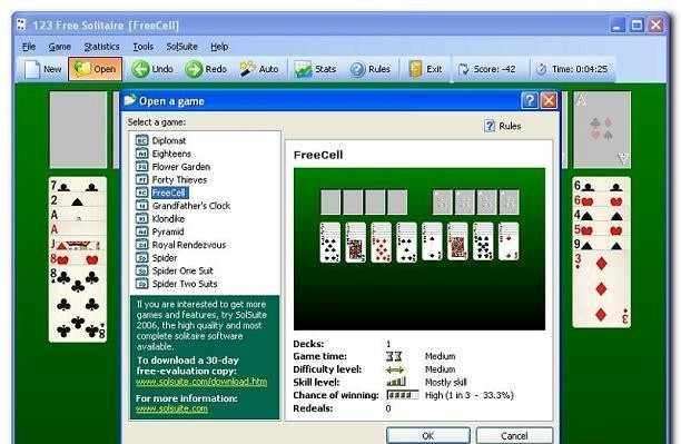 msn card games spider solitaire