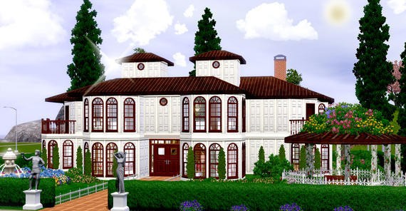 Sims3 - Villa Monaco *Fully Furnished*
