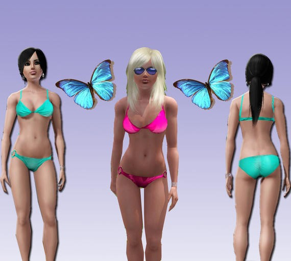 3863 1 sims3 deluxe hipster bikini bottom ... willing to take hits for Depend adult diapers ads. Share. Text: A A