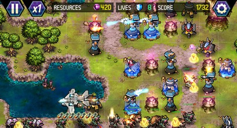 Tower Defense: Lost Earth for iPhone