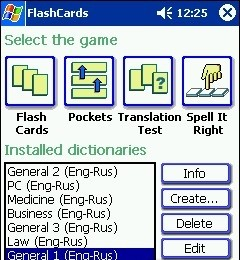 FlashCards Eng - Russian for Pocket PC russian cp sites