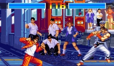 Aggressors of Dark Kombat for Neo Geo