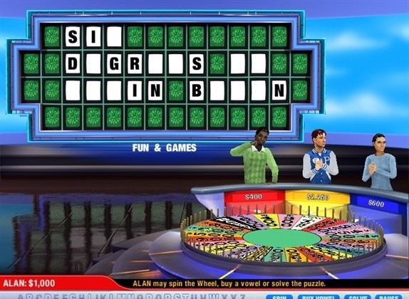 Wheel Of Fortune Y8com Play Free Online Games Party