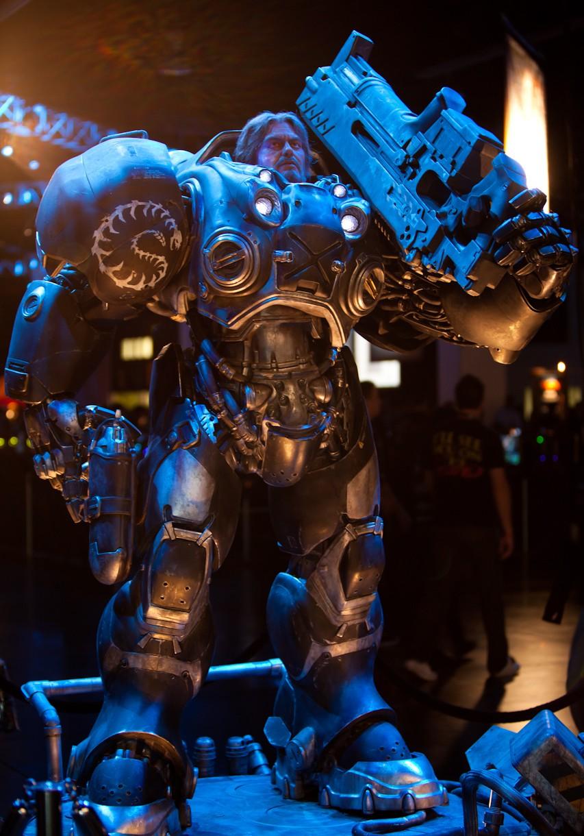 StarcraftII Life-size Sculpture Pics fuskem kid pics