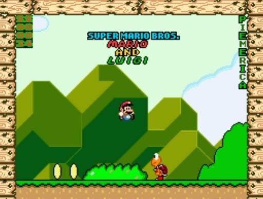 Super Mario Bros. Mario & Luigi for SNES