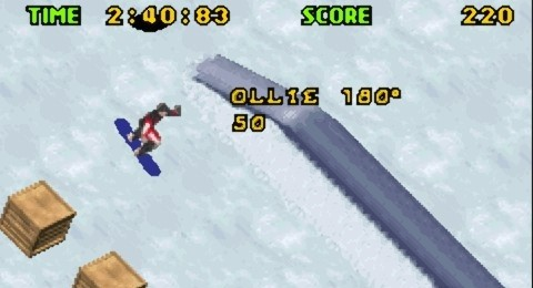 Shaun Palmer's Pro Snowboarder for GBA