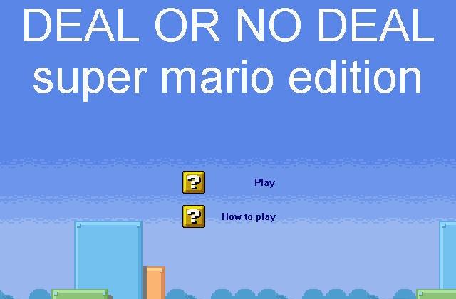 Mario game deal or no deal mario edition lisisoft