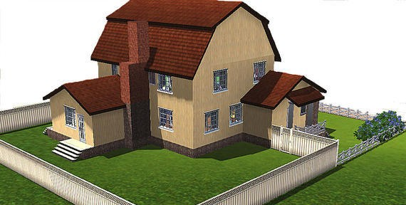 Sims3 - Desperate Housewives - Mayer house