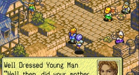 Tactics Ogre - The Knight of Lodis for GBA