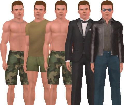 Sims3 Arnold Schwarzenegger Terminator Games