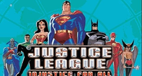 Justice League - Injustice for All for GBA Emulator Free Game