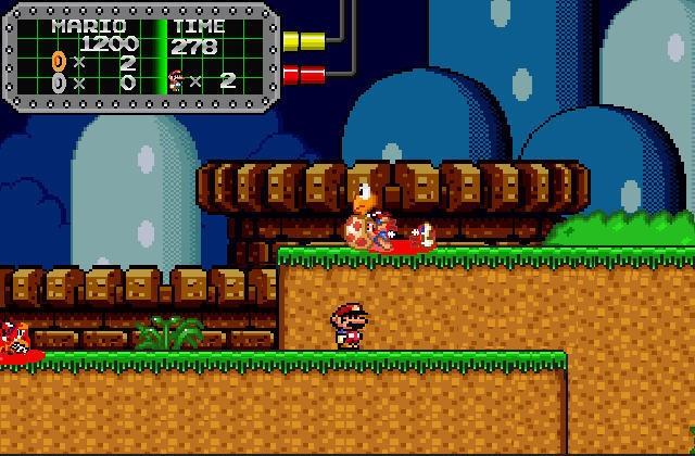 super mario world online game