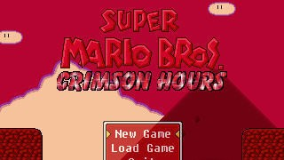 Mario Game: Super Mario Bros: Crimson Hours