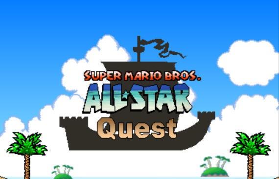 Mario Game: Super Mario Bros. All-Star Quest