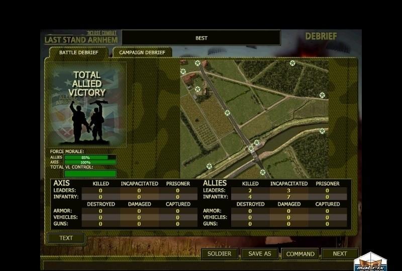 Close Combat: Last Stand Arnhem Client Patch