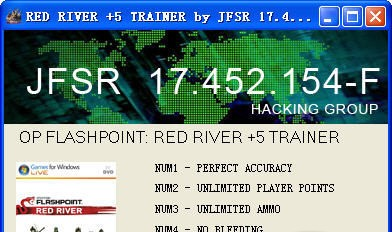 Operation Flashpoint: Red River v1.0 +5 Trainer