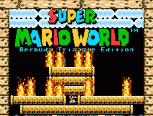 Super Mario World: Bermuda Triangle for SNES