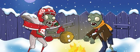 Plants vs. Zombies Holiday 2010 Wallpaper Pack