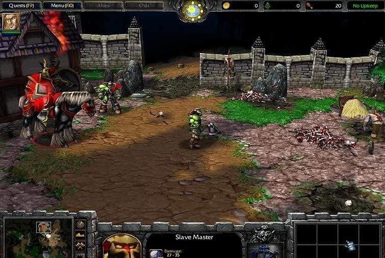 Warcraft III: Reign of Chaos Patch 1.24c Italian italian fem joy