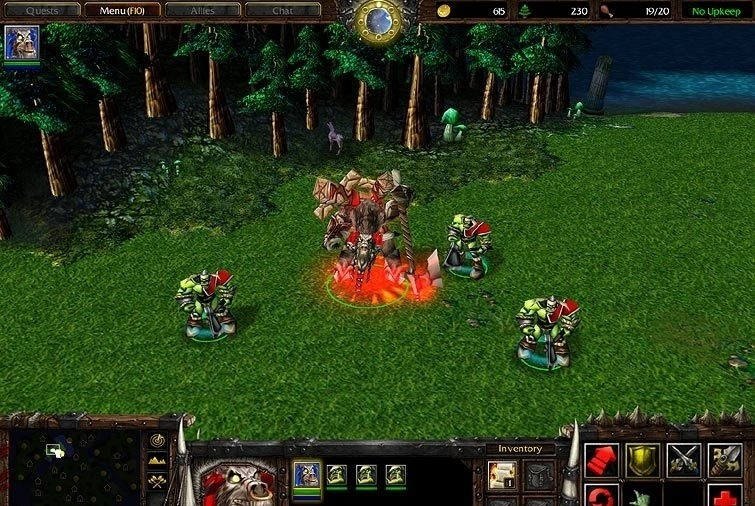 Screenshots for warcraft iii reign of chaos patch 1 24c italian