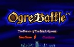 Ogre Battle - The March of the Black Queen for SNES
