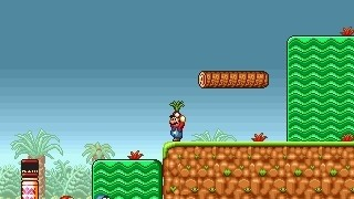Mario Game: Super Mario Bros. Eat Your Vegatables