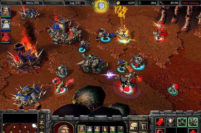 Warcraft III: The Frozen Throne Patch 1.24d Italian italian fem joy
