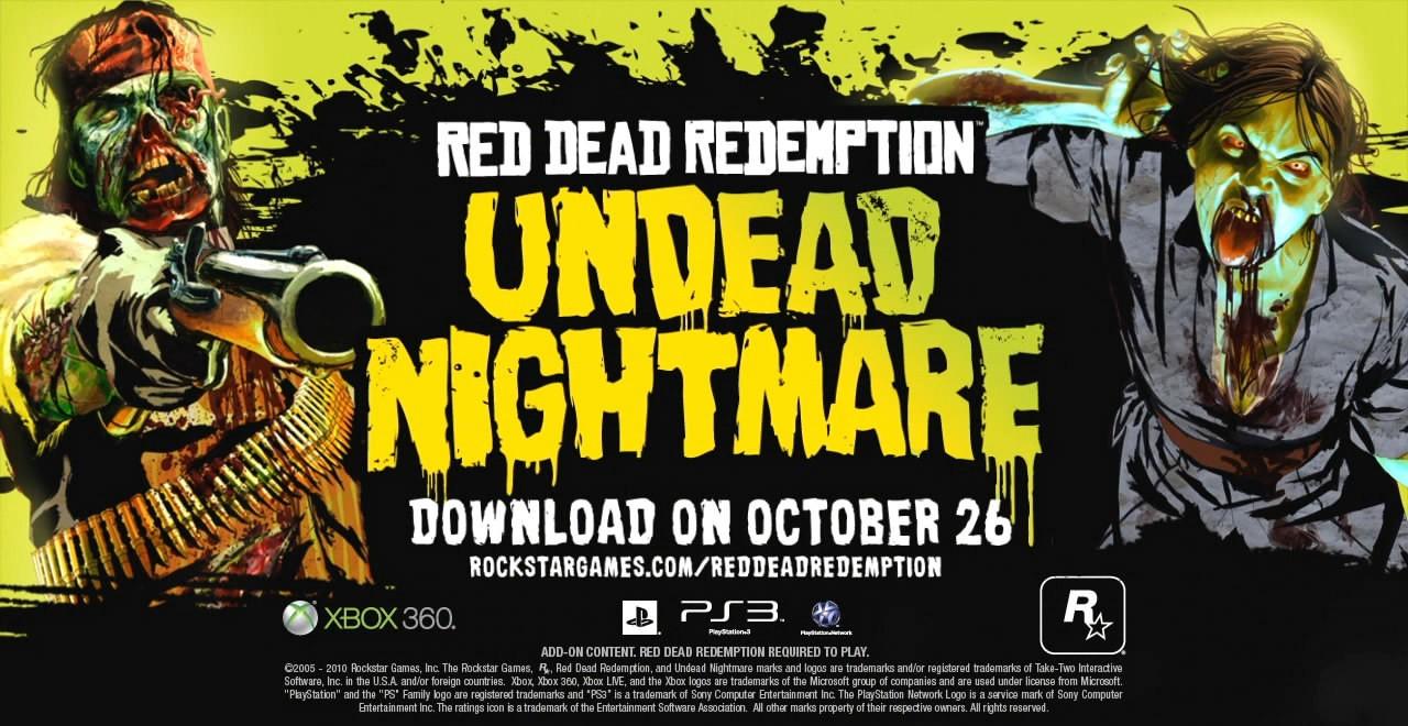 Red Dead Redemption: Undead Nightmare Pack Trailer #3