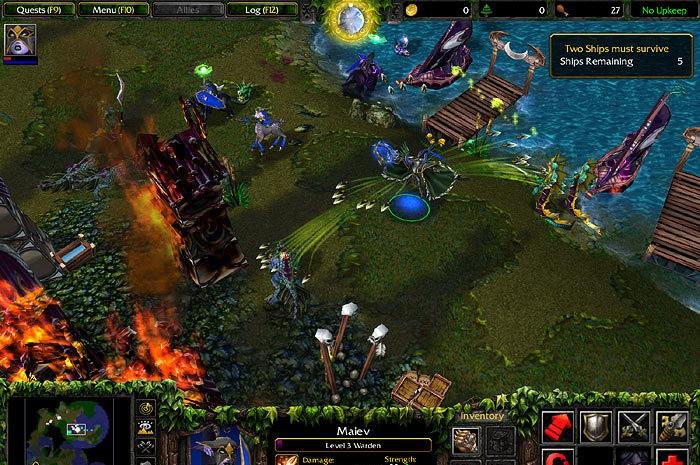 Maps Warcraft 3 Frozen Throne скачать