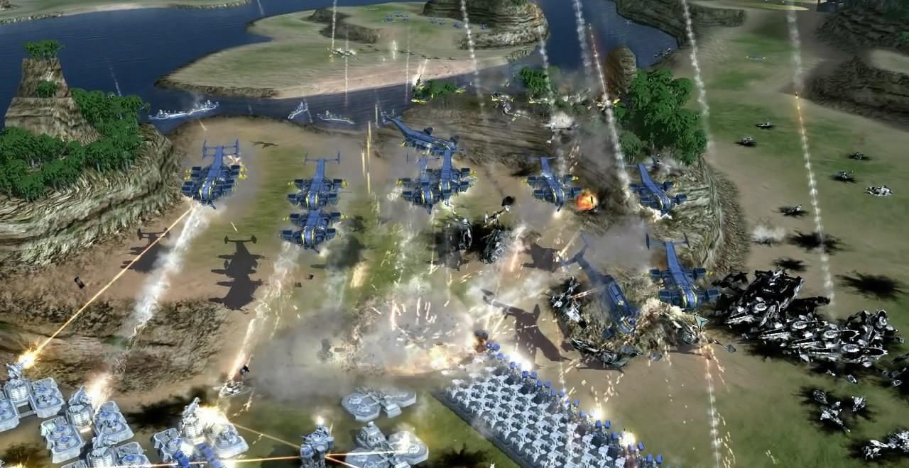 Supreme Commander 2: DLC A.I. Improvements Trailer HD