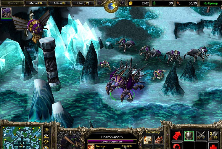 Warcraft III: The Frozen Throne Patch 1.24c-1.24d Italian italian fem joy