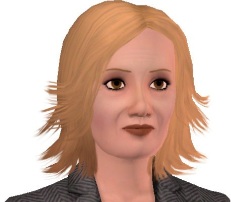 Sims3 - Jessica Walter (Lucille Bluth, Arrested Development)